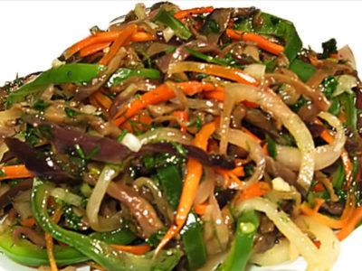 Баклажаны по-корейски (закуска)