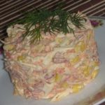 быстрый и вкусный салат