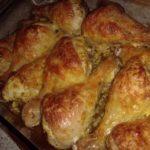 Куриные ножки с сыром из духовки фото