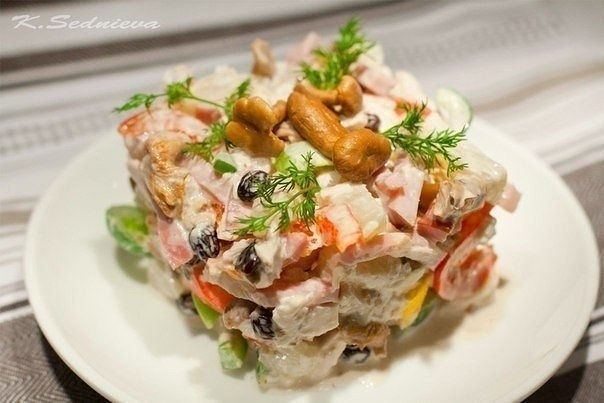 салат изюминка