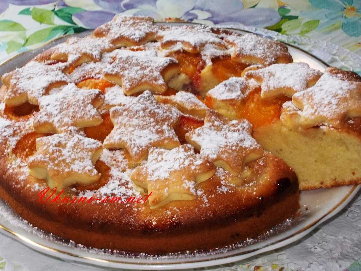 Пирог сладкий простой рецепт фото
