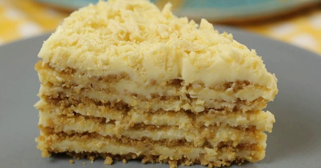 БЕЗ ДУХОВКИ и печенья! Обалденный Торт ПЛОМБИР без выпечки!