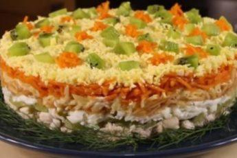 Потрясающе яркий салат «Леди»: для настоящих дам
