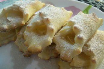 Низкокалорийные творожные печенья с яблоками! Очень вкусно!