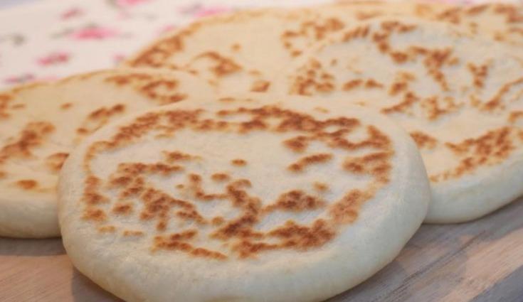 Вкусные лепешки «Базлама». Отлично заменяет хлеб