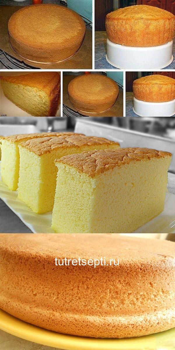 Бисквит на лимонаде! Пышный и нереально вкусный!