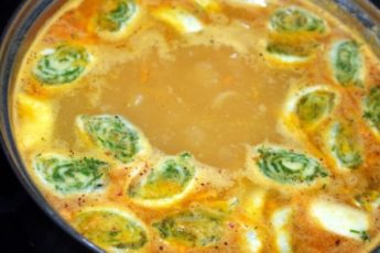 Суп со штрулями — бабулин рецепт