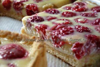 Восхитительный ягодный тарт. Удачный рецепт!