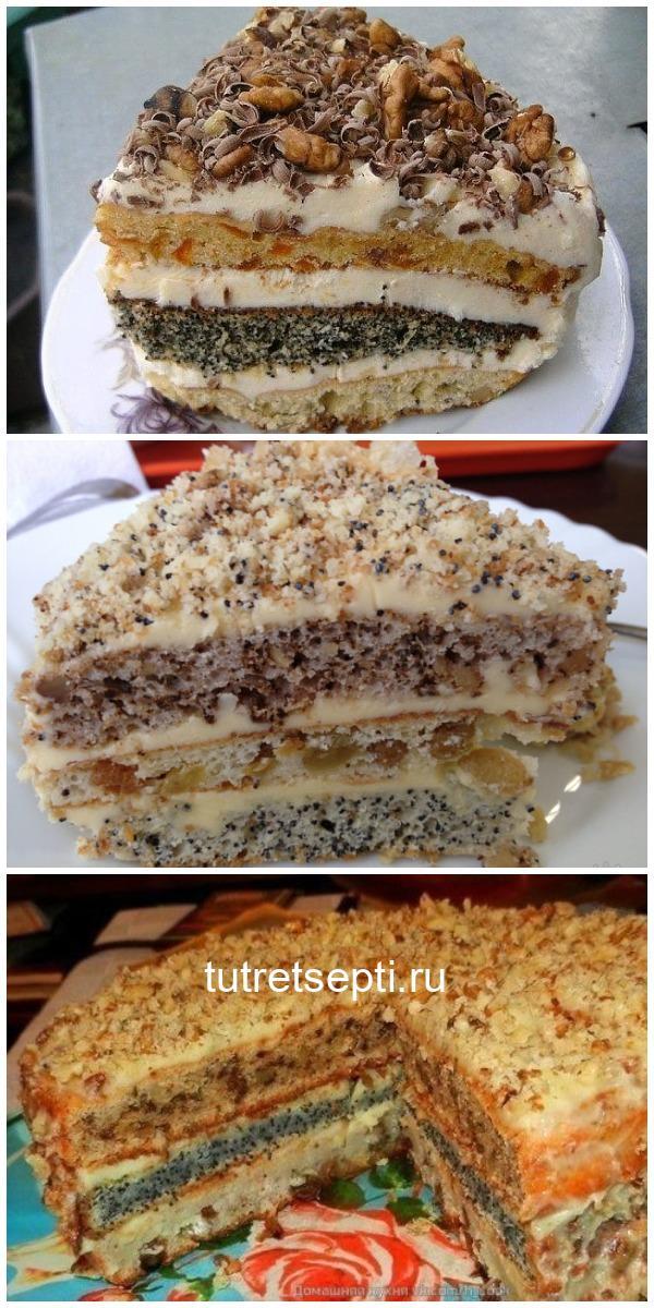 Торт «Наташа». Бомбовый рецепт! Все гости тают от него!