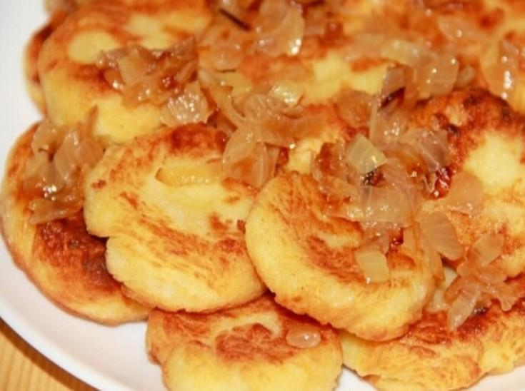 Ленивые вареники с картошкой