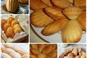 Французское бисквитное печенье «Мадлен» от Пьера Эрме.