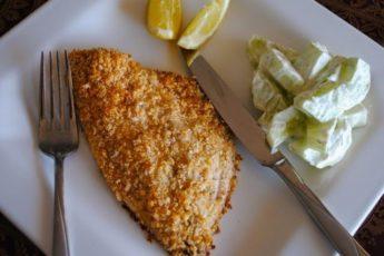 Рыбное филе в сырной панировке. Пальчики будете облизывать!